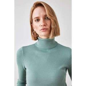 Női garbó Trendyol Upright Collar kép