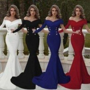1x divatos női esküvő parti alkalmi ruha kép
