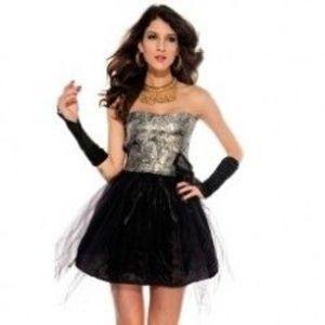 1db Szexi női vállnélküli virágos alaklmi koktél ruha party ruha buli ruha csinos mini ruha LC2869 kép
