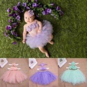 Tütü szoknya babáknak - puha fátyoltüll - 3db-os szett kép