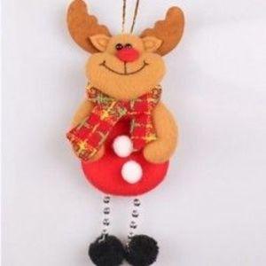 1db 17x8cm-es Rénszarvas dísz - Karácsonyi dekoráció - 12 kép