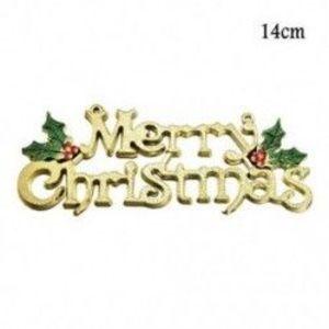 1db 14cm-es Boldog Karácsonyt felirat - Karácsonyi dekoráció - 23 kép
