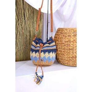 Nöbo kis gyékény táska kép