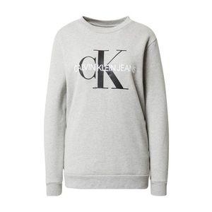 Calvin Klein Jeans Tréning póló szürke / fekete / fehér kép