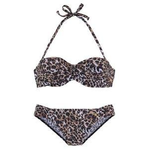 LASCANA Bikini barna / természetes fehér kép
