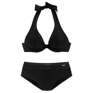 LASCANA Bikini fekete kép