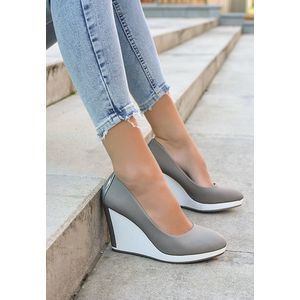 Mairenz szürke platform cipők kép