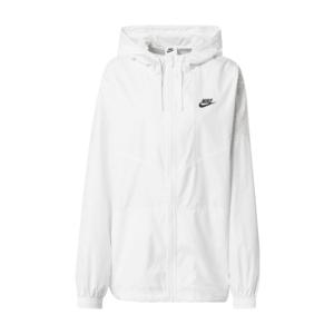 Nike Sportswear Átmeneti dzseki fehér / fekete kép