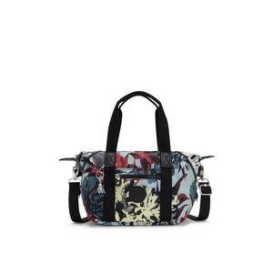 KIPLING Shopper táska opál / fekete / piros / pasztellsárga / fehér kép